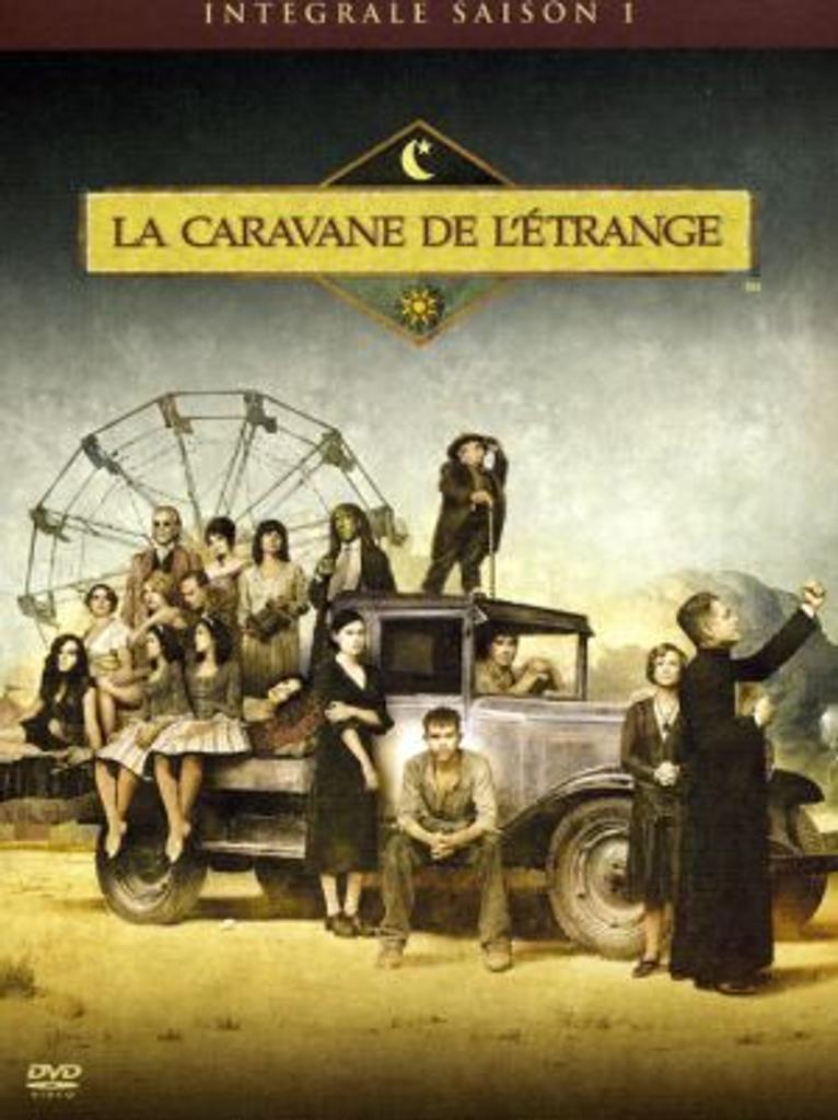 La Caravane de l'Etrange. Saison 1 / créé par Daniel Knauf  