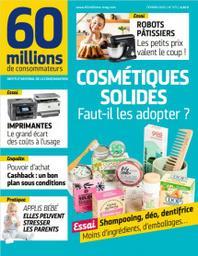 60 millions de consommateurs / Dir. de la publ. Agnès-Christine Tomas-Lacoste |