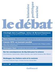 Le débat : (2013-2020) / Directeur de publication Pierre Nora |