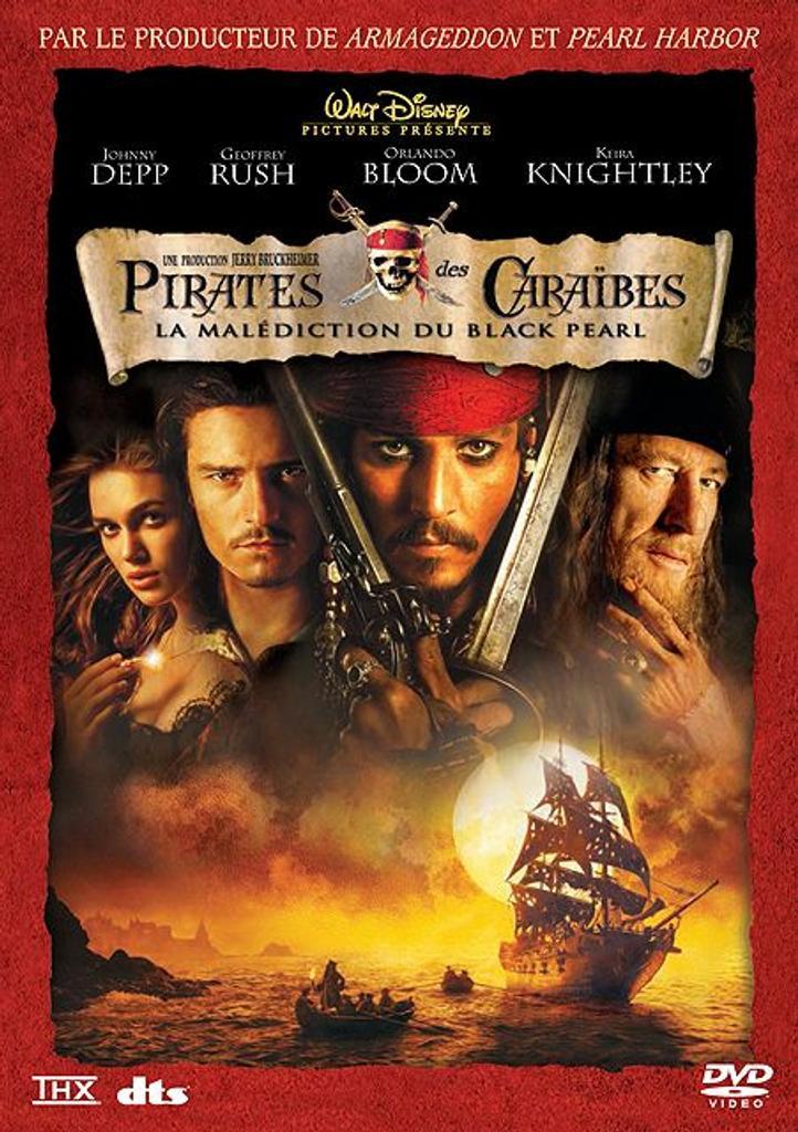 la malédiction du Black Pearl / un film de Gore Verbinski | Verbinski, Gore. Monteur