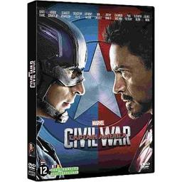 Captain America : civil war / Anthony Russo, réal, Joe Russo, réal. | Russo, Anthony. Metteur en scène ou réalisateur