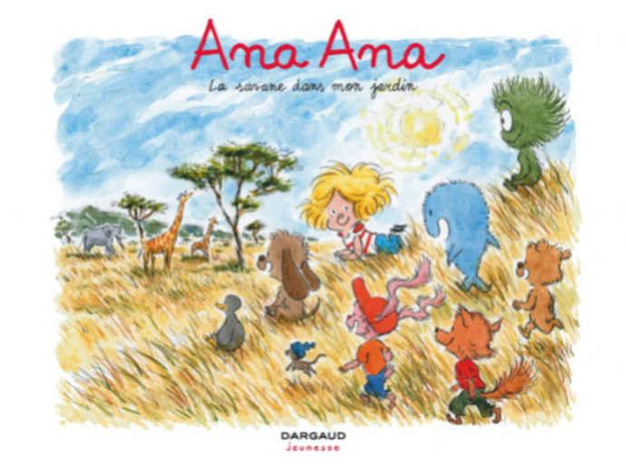 La Savane dans mon jardin / Scénario et illustration de Alexis Dormal | Dormal, Alexis. Scénariste. Illustrateur