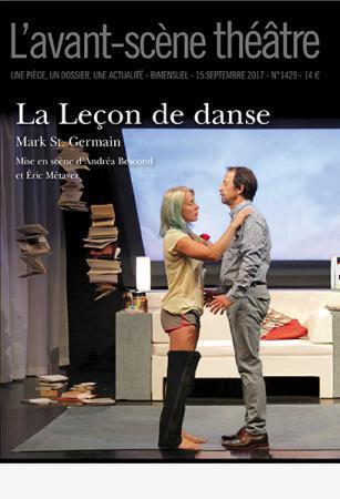 L' avant-scène Théâtre. 1429, Mardi 15 Septembre 2017 | St. Germain, Mark. Auteur