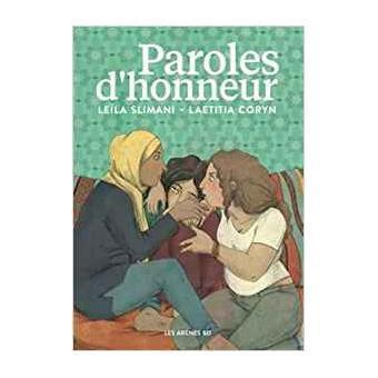 Paroles d'honneur | Slimani, Leila - Auteur du texte