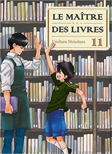 Le maître des livres / Umiharu Shinohara | Shinohara, Umiharu. Scénariste. Illustrateur