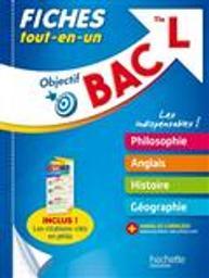 Objectif BAC : terminale L / Eric Marquer  | Marquer, Eric. Auteur