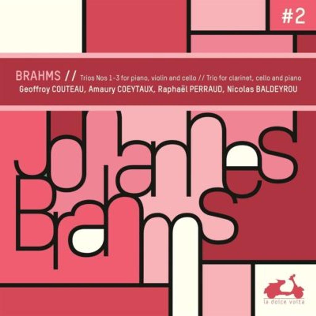 Trios n°1-3 pour piano, violon et violoncelle / Johannes Brahms |