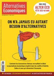 Alternatives économiques. 406, Novembre 2020  
