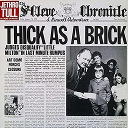 Thick as a Brick / Jethro Tull | Jethro Tull. Interprète