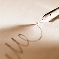 Lettres d'intérieur