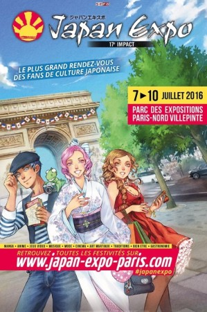 Visuel : Japan Expo 2016