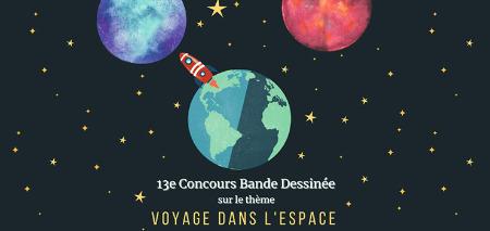 """Visuel """"Concours Bande Dessinée"""""""